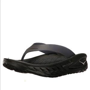 Hoka One One Ora Black Flip Flops